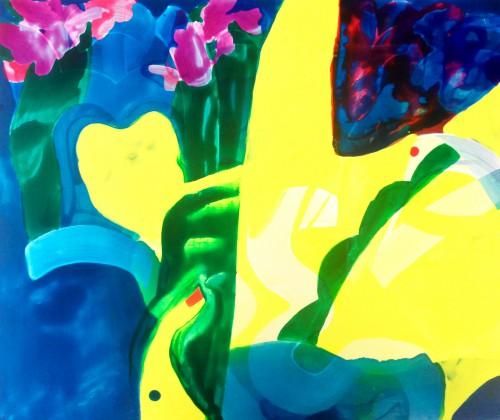 Saki Yamaji 花束を持って Tachibana Gallery 山地咲希 橘画廊