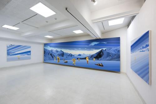 Akira Kamo Anti-sanctuary Photo Kazuo Fukunaga Tachibana Gallery 加茂昂 橘画廊