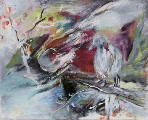CHUN Inah Redish Bird#2 Tachibana Gallery 橘画廊